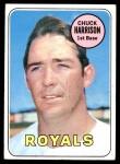 1969 Topps #116  Chuck Harrison  Front Thumbnail