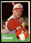 1963 Topps #21 YEL Marty Keough  Front Thumbnail