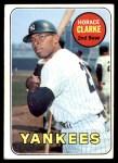 1969 Topps #87  Horace Clarke  Front Thumbnail