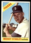 1966 Topps #198  Mickey Stanley  Front Thumbnail