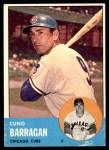 1963 Topps #557  Cuno Barragan  Front Thumbnail