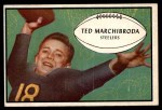 1953 Bowman #93  Ted Marchibroda  Front Thumbnail