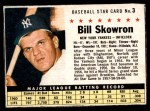 1961 Post #3 BOX Bill Skowron   Front Thumbnail