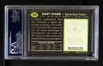 1969 Topps #215  Bart Starr  Back Thumbnail