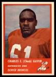 1963 Fleer #87  Chuck Gavin  Front Thumbnail