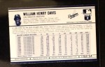 1972 Kellogg's #3  Willie Davis  Back Thumbnail