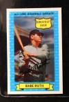 1972 Kellogg All Time Greats #6  Babe Ruth  Front Thumbnail