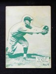 1934 Batter Up #4  Dick Bartell   Front Thumbnail