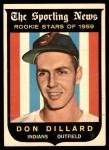1959 Topps #123  Don Dillard  Front Thumbnail