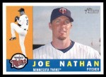2009 Topps Heritage #169  Joe Nathan  Front Thumbnail