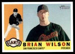 2009 Topps Heritage #80  Brian Wilson  Front Thumbnail