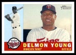 2009 Topps Heritage #109  Delmon Young  Front Thumbnail