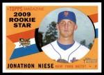 2009 Topps Heritage #131  Jonathon Niese  Front Thumbnail