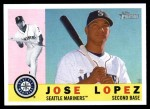 2009 Topps Heritage #86  Jose Lopez  Front Thumbnail