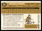 2009 Topps Heritage #88  Russell Martin  Back Thumbnail