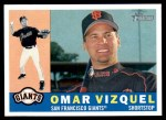 2009 Topps Heritage #67  Omar Vizquel  Front Thumbnail