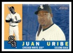 2009 Topps Heritage #157  Juan Uribe  Front Thumbnail