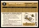 2009 Topps Heritage #9  Brad Hawpe  Back Thumbnail