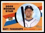 2009 Topps Heritage #136  Matt Tuiasosopo  Front Thumbnail