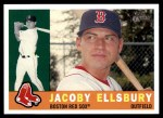 2009 Topps Heritage #153  Jacoby Ellsbury  Front Thumbnail