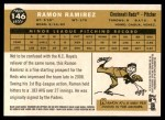 2009 Topps Heritage #146  Ramon Ramirez  Back Thumbnail
