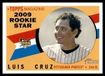 2009 Topps Heritage #133  Luis Cruz  Front Thumbnail