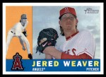 2009 Topps Heritage #76  Jered Weaver  Front Thumbnail