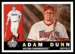 2009 Topps Heritage #149  Adam Dunn  Front Thumbnail