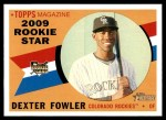 2009 Topps Heritage #122  Dexter Fowler  Front Thumbnail