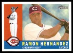 2009 Topps Heritage #60  Ramon Hernandez  Front Thumbnail