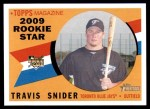 2009 Topps Heritage #148  Travis Snider  Front Thumbnail