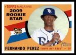 2009 Topps Heritage #120  Fernando Perez  Front Thumbnail