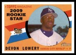 2009 Topps Heritage #135  Devon Lowery  Front Thumbnail