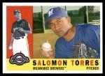 2009 Topps Heritage #156  Salomon Torres  Front Thumbnail