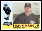 2009 Topps Heritage #98  Shaun Marcum  Front Thumbnail