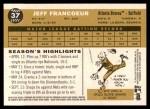 2009 Topps Heritage #37  Jeff Francoeur  Back Thumbnail
