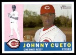 2009 Topps Heritage #110  Johnny Cueto  Front Thumbnail