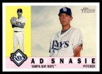 2009 Topps Heritage #23  Andy Sonnanstine  Front Thumbnail
