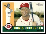 2009 Topps Heritage #198  Chris Dickerson  Front Thumbnail