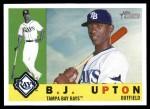 2009 Topps Heritage #162  B.J. Upton  Front Thumbnail