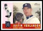 2009 Topps Heritage #85  Justin Verlander  Front Thumbnail