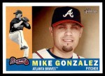 2009 Topps Heritage #189  Mike Gonzalez  Front Thumbnail