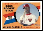 2009 Topps Heritage #119  Wilkin Castillo  Front Thumbnail
