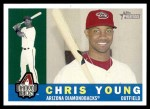 2009 Topps Heritage #52  Chris Young  Front Thumbnail
