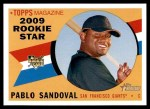 2009 Topps Heritage #42  Pablo Sandoval  Front Thumbnail