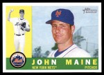 2009 Topps Heritage #59  John Maine  Front Thumbnail