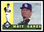 2009 Topps Heritage #274  Matt Garza  Front Thumbnail