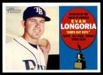 2009 Topps Heritage #318  Evan Longoria  Front Thumbnail