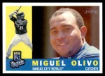2009 Topps Heritage #339  Miguel Olivo  Front Thumbnail