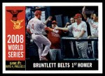 2009 Topps Heritage #386   -  Eric Bruntlett World Series Front Thumbnail